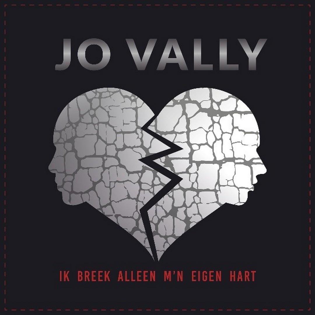 Jo Vally-Ik breek alleen m'n eigen hart - Hoes Jo Vally Ik breek alleen mn eigen hart