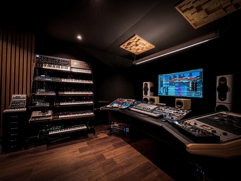 Peter Luts zijn vernieuwde studio