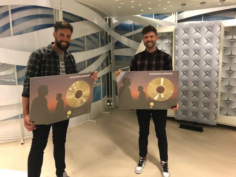 Nick en Simon behalen goud met hun recente album