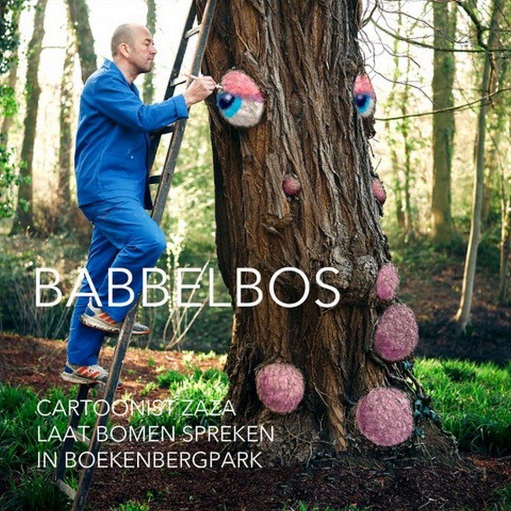 ZAZA brengt bomen tot leven - Aankondiging Babbelbos
