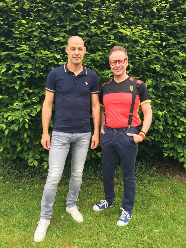 DJ Lucki Luc en Gert Claessensssens