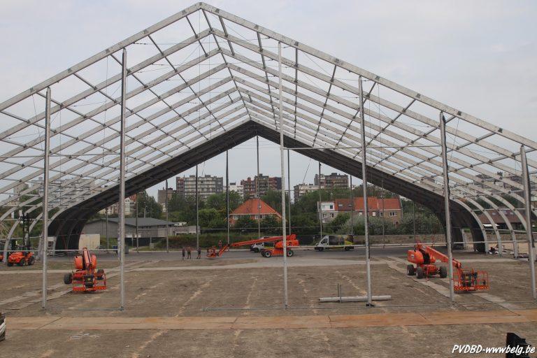 Proximus Pop-Up Arena verrijst in Middelkerke