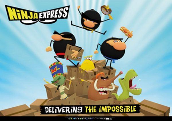 Ninja Express klaar om de wereld te veroveren! - Ninja Express