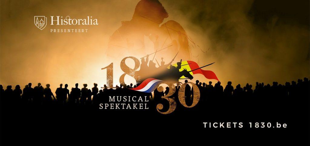 Historalia met revolutionair musicalspektakel '1830' - Aankondiging Histaralia 1830