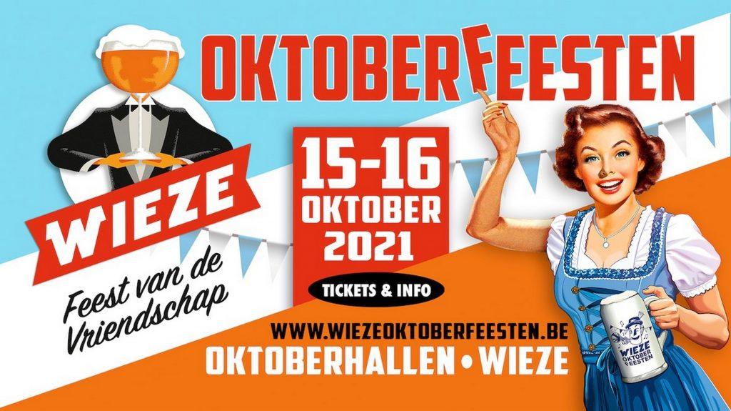 Oktoberfeesten Wieze komen terug - Aankondiging Oktoberfeesten Wieze 2021