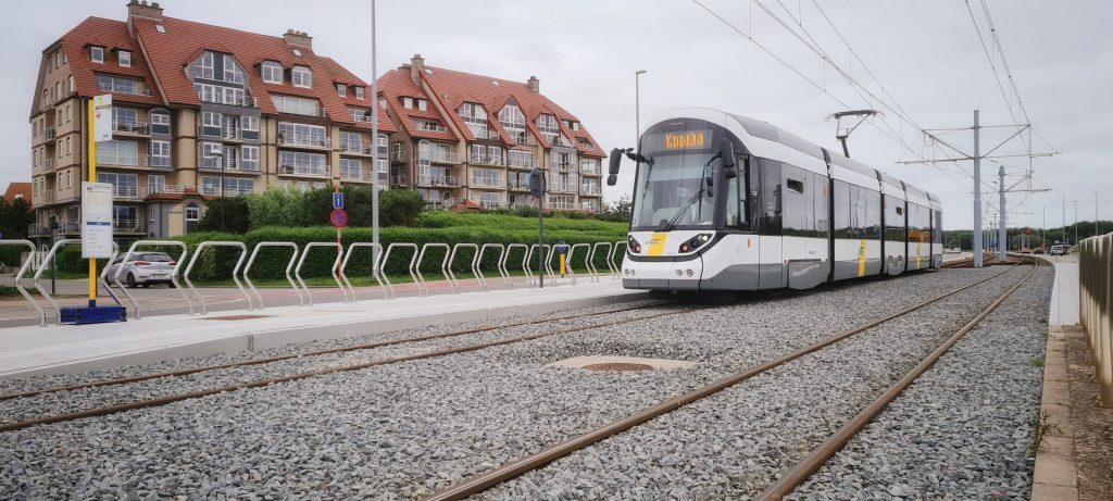 Tramhalte Maritieme Zone is operationeel - Nieuwe tramhalte Maritieme Zone 2