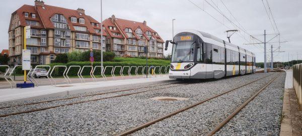Nieuwe tramhalte Maritieme Zone 2 Blankenberge