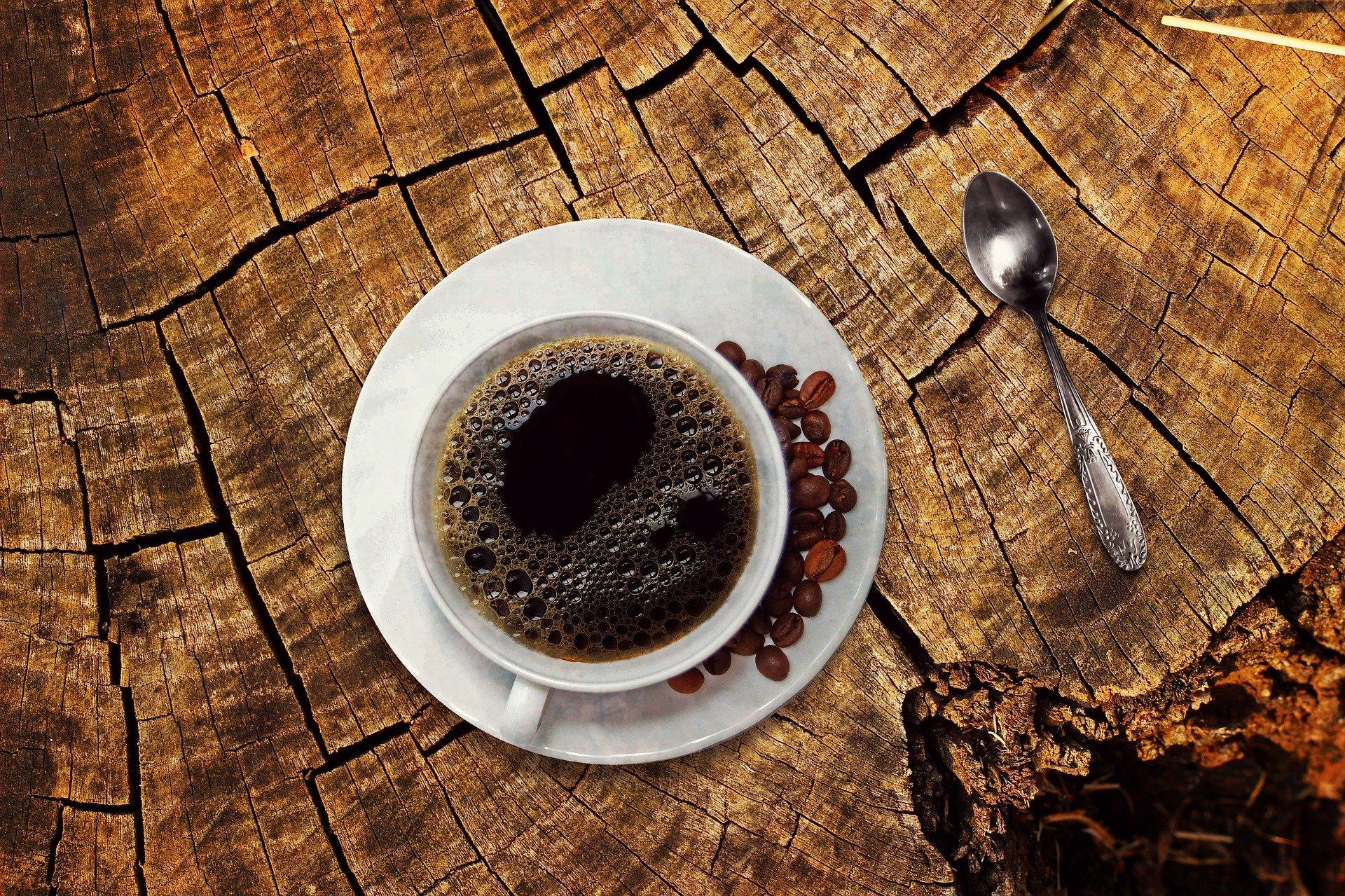 Op zoek naar genot in een kopje koffie