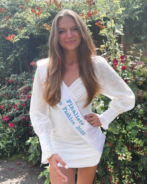 Julie Mortier gaat voor het kroontje van Miss Fashion 2022