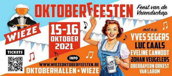 Luc Caals op Wieze Oktoberfeesten 2021! - Aankondiging Wieze Oktoberfeesten 2021