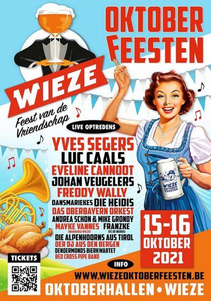 Oktoberfestradio opnieuw voor Wieze Oktoberfeesten - Affiche Wieze Oktoberfeesten 2021