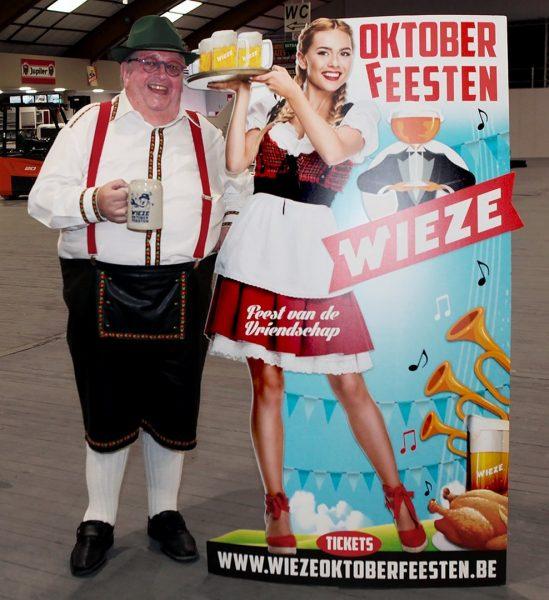 Luc Caals en de Wieze Oktoberfeesten 2021